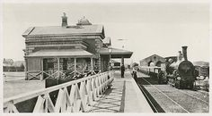 Goulburn Railway Station in NSW in Melbourne Suburbs, Old Photos, Taj Mahal, Around The Worlds, Australia, South Wales, Building, Country, Pictures