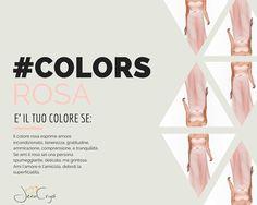 #Colors... ad ogni #personalità il suo #colore #pink #rosa #look #moda #trend #style #myStile #yourFavourite
