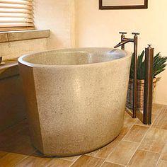Asian-Influence Bathtub