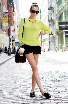 lemon blouse#