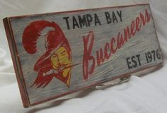 Hey, I found this really awesome Etsy listing at https://www.etsy.com/listing/179038300/tampa-bay-buccaneers-wall-sign-6-12-x-17