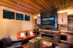 Linear Fireplace