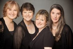 Love their music!! The Ladies of Anonymous 4 - Marsha Genensky, Ruth Cunningham, Jaquiline Horner, Susan Hellauer