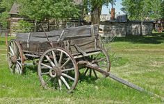Image detail for -... or Gold COuntry Scenes :: 22_Old_Farm_Wagon_by_Bob_Christian
