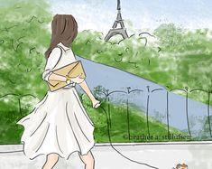 Wandkunst für Frauen Dont Give Up gute von RoseHillDesignStudio
