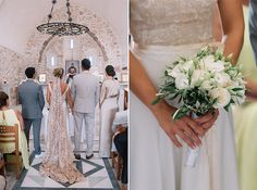 Beautiful destination wedding in Santorini | Paula & George - Chic & Stylish Weddings