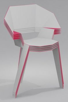 Oh Rigami Chair design © Rodolphe Pauloin.