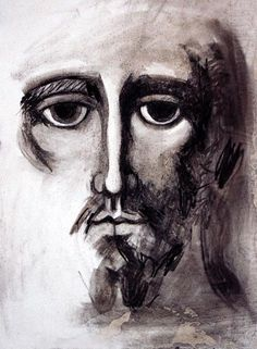 Religious Icons, Religious Art, Anima Christi, Jesus Face, Drawing Exercises, Best Icons, Byzantine Icons, Biblical Art, Painting Studio