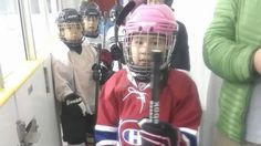 Ruby Ningeocheak is the first and only girl on the all-boys hockey team in Coral Harbour, Nunavut. She says her favourite team is the Montreal Canadiens.
