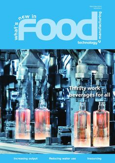 The most comprehensive coverage of new products and technology developments from companies supplying and servicing the food and beverage industry. The magazine covers bulk handling, storage and logistics, processing, packaging and food product design. Food And Beverage Industry, Food Industry, Food Technology, Food Science, Engineers, Magazine Covers, Product Design, Food To Make, Magazines