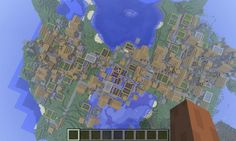 Huge Village - Minecraft Seeds