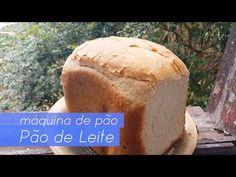 Pão caseiro fácil na máquina de pão - YouTube