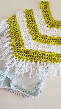 Little Girl Summer Top crochet pattern - Babykleidung Crochet Baby Dress Pattern, Black Crochet Dress, Crochet Baby Clothes, Crochet Toddler, Crochet Girls, Crochet For Kids, Crochet Summer Tops, Crop Top Pattern, Shawl Patterns