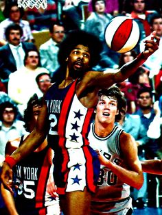 Julius Erving; the NBA needs to create throwback uniforms stat