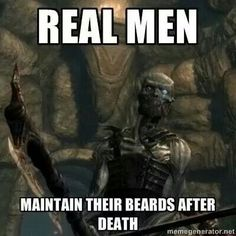Real men. Draugr