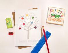 Rainbow Apple Tree - By Snappy Crocodile