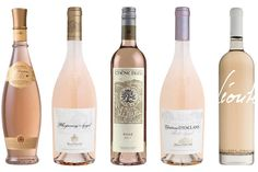 Ten Refreshing Rosés for Summer Crisp and dry with notes of subtle summer fruits, these rosés are the perfect accompaniment to long, hot days.  From left, 2014 Domaines Ott Clos Mireille; 2014 Whispering Angel; 2014 Chêne Bleu; 2014 Château...