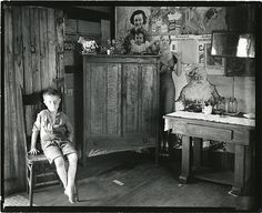 For example, the image above was taken by Walker Evans, who documented the rural farming communities of America during the Great Depression. Description from robinlewisausten.wordpress.com. I searched for this on bing.com/images