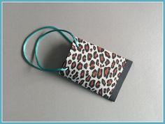 Mini-Geschenktüte Leopard von Smaragddrache auf DaWanda.com