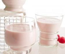 Yogur liquido de frambuesa
