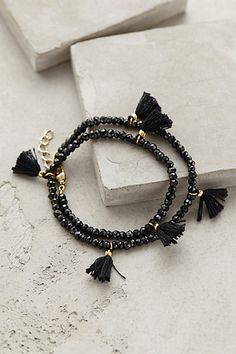 Fluttered Tassel Wrap Bracelet - anthropologie.com #anthroregistry