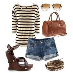 Perfect combination of summer women clothes !