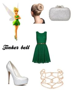 """""""Tinkerbell"""" by carolinag-dance ❤ liked on Polyvore featuring Yumi, ALDO and Alexis Bittar"""