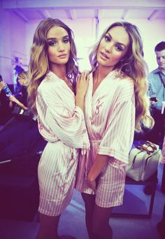 Victoria's Secret Angels' Hair and Make-up: is it just me or do they look sooo much alike?