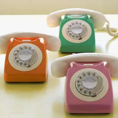telephones; I honestly want one! Lol.