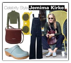 """""""Celebrity Style/ Jemima Kirke"""" by troentorp ❤ liked on Polyvore featuring Troentorp, WearAll, Linda Farrow and Lancaster"""