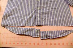 turning a man shirt into a woman's skirt - wanna so try this - not that I could sew though