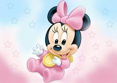 Painel decorativo para festa Minnie Baby