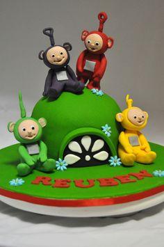 Telly Tubby Cake