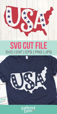 This of July SVG file works great with the Cricut and Silhouette Cameo for crafters to make DIY projects such as shirts, signs, mugs, and more! Works great with heat transfer vinyl. Cricut Vinyl, Svg Files For Cricut, Vinyl Designs, Shirt Designs, Silhouette Cameo Projects, Silhouette Cameo Kids, Silhouette Files, Patriotic Shirts, Vinyl Shirts