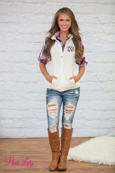 Our classic heathered vests are a must-have for the fall and winter seasons! With irresistibly soft knit fabric and a beautifully classic shade of heather ivory, you're going to love layering this with so many outfits!