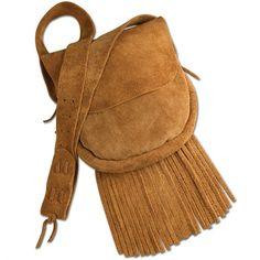 Hand Made Suede Leather Handbag