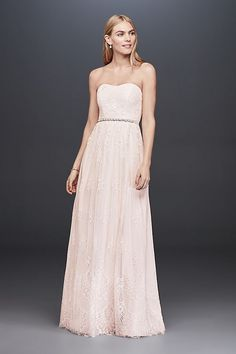 72aab53acc27 skirt lace style (evenly spaced) Country Wedding Dresses, Elegant Dresses,  Formal Dresses