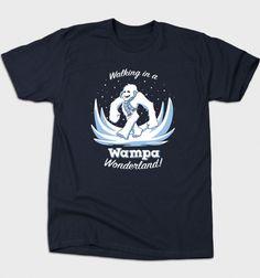 Wampa Wonderland T-Shirt - Star Wars T-Shirt is $12 today at Busted Tees!