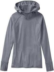 NWT Athleta Plush Tech Hoodie, Sweatshirt, S, Cobblestone Grey