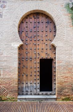 TOLEDO MARCH 27 Old arabic door in San Roman church Toledo Spain - stock photo