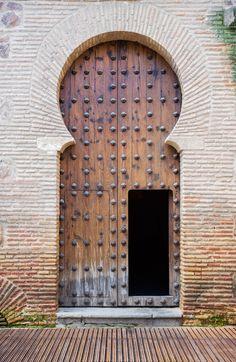 TOLEDO MARCH 27 Old arabic door in San Roman church Toledo Spain - stock photo