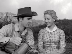 """From the 12 May 1962 episode of Gunsmoke titled """"Chester's Indian.""""  Chester (Dennis Weaver) is coerced by Callie Dlil (Jena Engstrom) to care for the Indian (Eddie Little Sky) he shot, not knowing that the young woman was trying to help the Indian return to his village."""