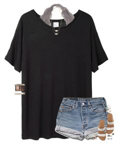 """""""in need of coffee and a shopping trip."""" by maggie-prep ❤ liked on Polyvore featuring Base Range, J.Crew, Kenneth Jay Lane, Kendra Scott, ASOS, Becca, Yves Saint Laurent and Bobbi Brown Cosmetics"""