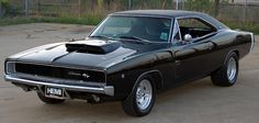 1968 Charger RT Hemi represented a styling high point for '60s muscle cars. What beast!!
