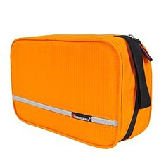 Toiletry Bag, Christmas Gifts, Travelmall Delicate Hanging Travel Toiletry Bag for Business Tiny Handbag (Orange) - Brought to you by Avarsha.com