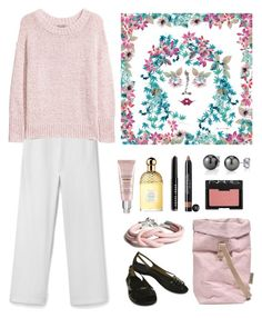 Alhambra blossoms by terezah on Polyvore featuring H&M, MANGO, Missoni, NARS Cosmetics, Chanel, Bobbi Brown Cosmetics, Guerlain, By Terry and Uashmama