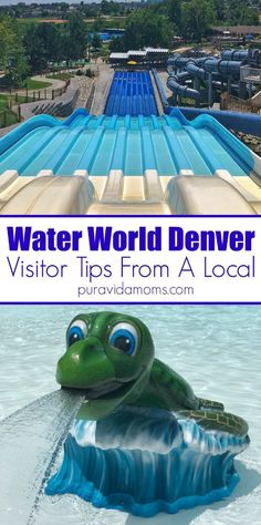 Five reasons to visit Water World in Denver, the largest community owned water park in the US, and a perfect place to take young children! Hiking With Kids, Travel With Kids, Family Travel, Denver Vacation, Vacation Trips, Vacation Ideas, Vacation Games, Vacation Travel, Colorado Springs