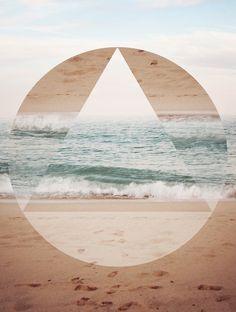 New geometric art design photographs 58 ideas Ocean Wallpaper, Trendy Wallpaper, Of Wallpaper, Iphone Wallpaper, Beachy Wallpaper, Geometric Photography, Art Photography, Hipster Vintage, Illustration