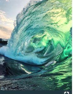 Just stuff from web Water Waves, Sea Waves, Water Aesthetic, Waves Photography, Ocean Pictures, Ocean Wallpaper, Beautiful Ocean, Mellow Yellow, Ocean Beach