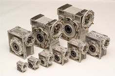 Groschopp's Right Angle Gearboxes or Right Angle Reducers  For more information about Groschopp's products visit: http://www.groschopp.com/category/products/